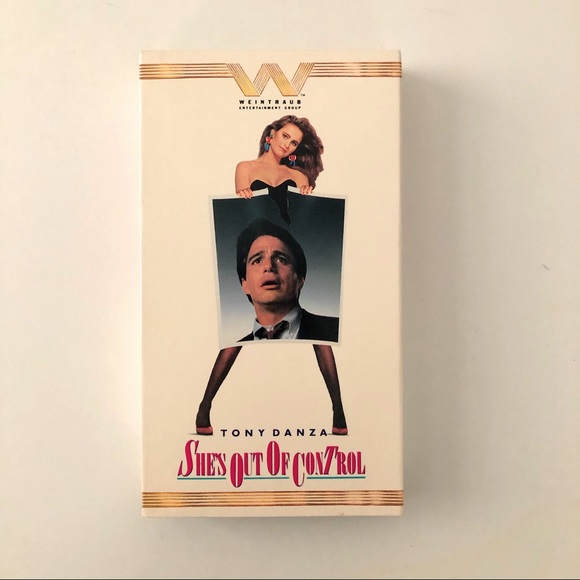 She's Out Of Control Vhs Tape